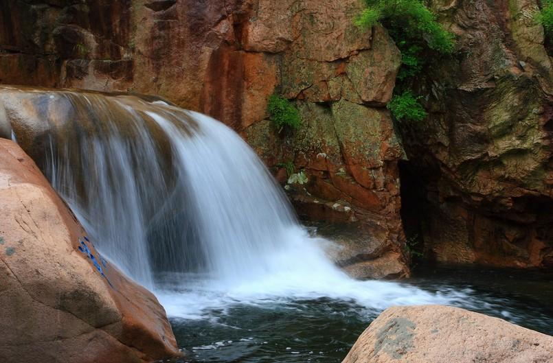 北九水是崂山风景区的一条旅游主线