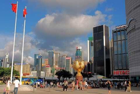 香港会展中心暨金紫荆广场