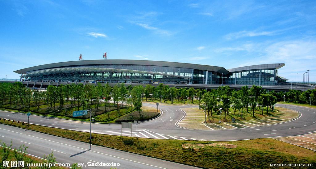 武汉机场效果图