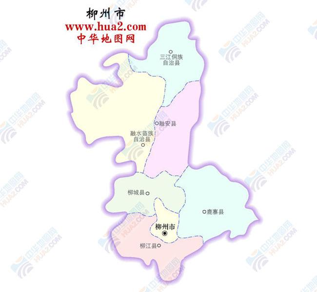 柳州市地图