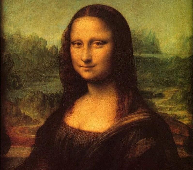 《蒙娜丽莎》又名《永恒的微笑》mona lisa图片