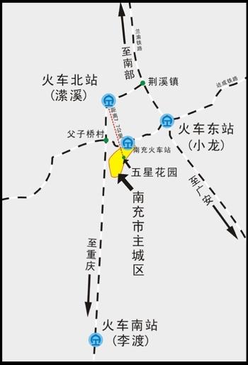 广安飞机场选址