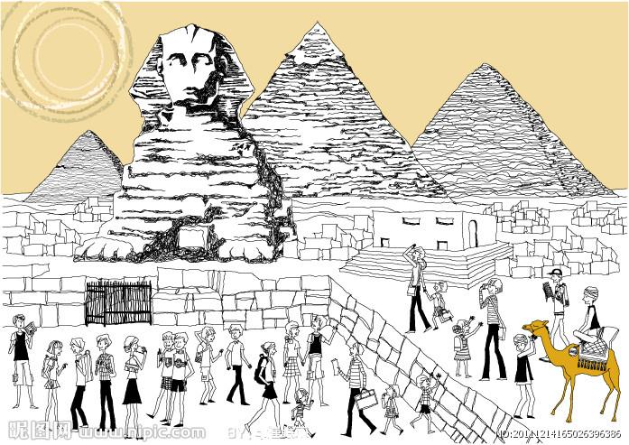 埃及金字塔关闭20天后重新开放 图图片