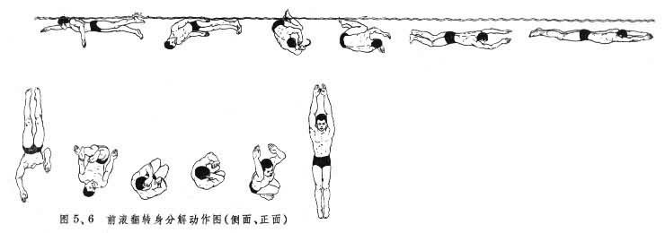所以蛙泳,蝶泳,仰泳在转身技术方面多年来仍然保持原来的基本方法