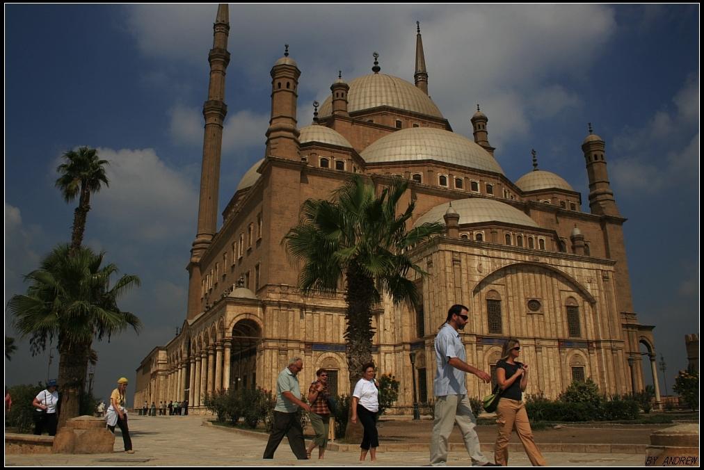 埃及清真寺手绘图片大全