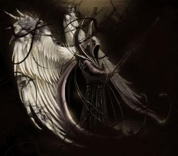 路西法曾经是天堂中地位最高的天使——圣光六翼