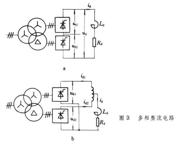 因此在负载上得到十二脉波的整流电压