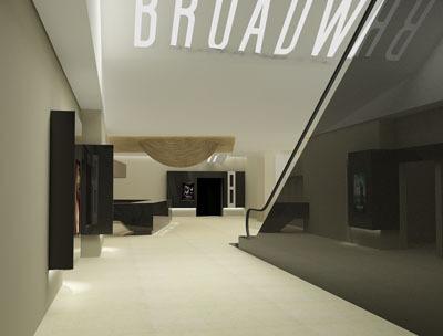百老匯國瑞城店位居國瑞一層到地下二層