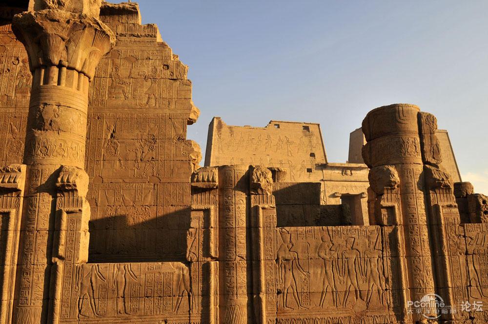 埃及建筑矢量图