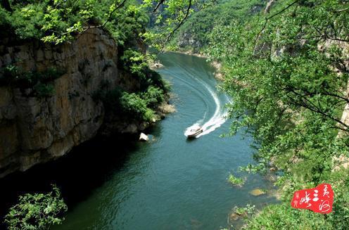 小浪底黄河三峡风景区