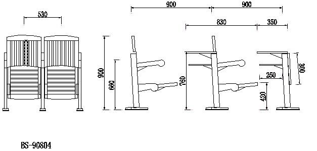 幼儿园桌椅平面图