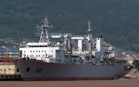 我国航母编队需要新型综合补给舰