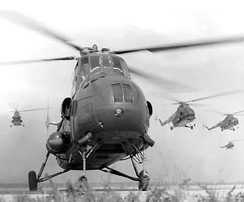 设计单位对直升机及发动机做出了55项技术改进