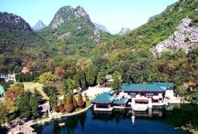 石家庄景点 西山森林公园 高清图片