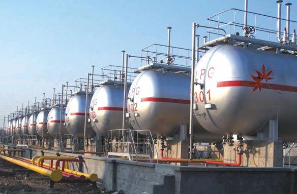天元液化石油气储罐图片