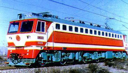 dj4型电力机车 6K型电力机车 韶山7b型电力机车
