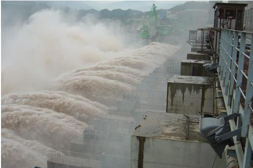 其规模仅次于三峡水电站