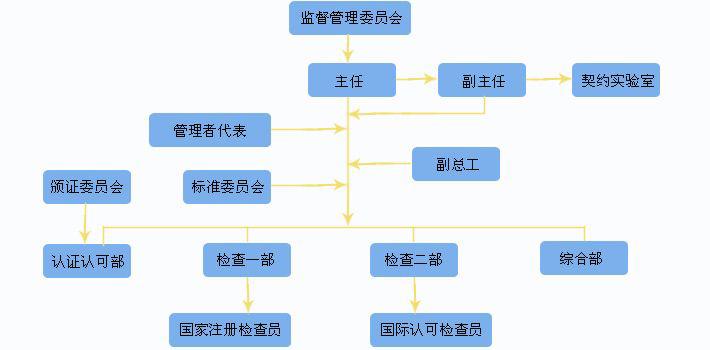 建立组织结构和质量管理体系