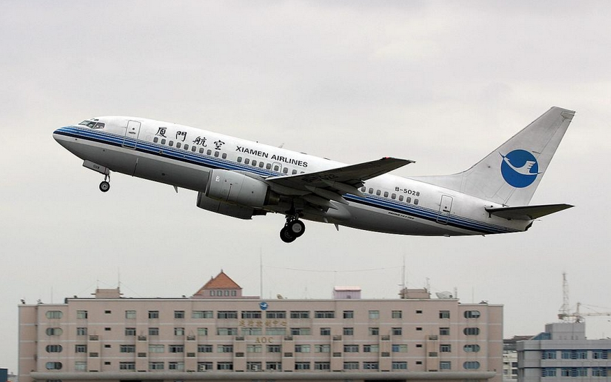 厦门航空获准参与第一次台商春节包机直航