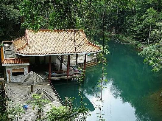 桂山风景区玻璃桥