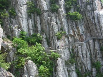 三皇寨景区是嵩山国家森林公园少室山景区的主要组成部分,与少林寺