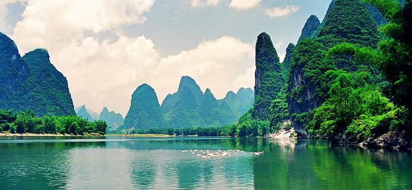 桂林是世界著名的风景游览城市